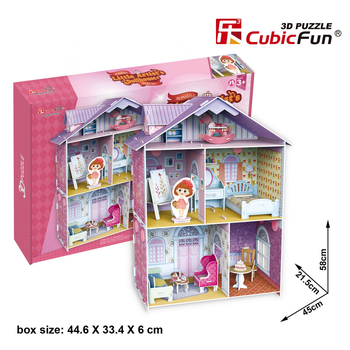 Little Artist's Dollhouse