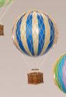 8.5com Balloon Ornament. Blue
