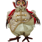 Regal Owl Red/Sage 30cm H