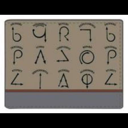 Harry Potter - Spell Symbols Wallet