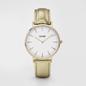 CLUSE La Boheme Gold White/Gold Metallic