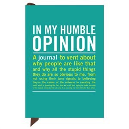Mini Inner Truth Journals - In My Humble Opinion