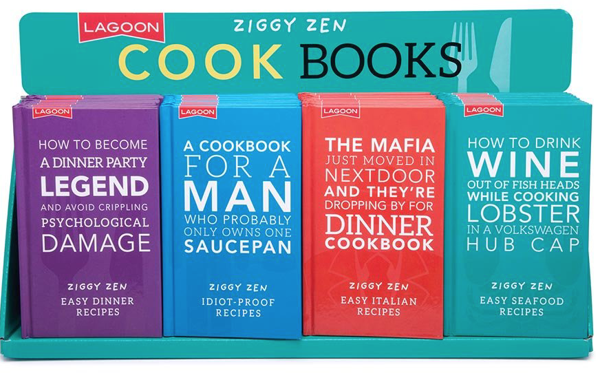 Ziggy Zen Cook Books