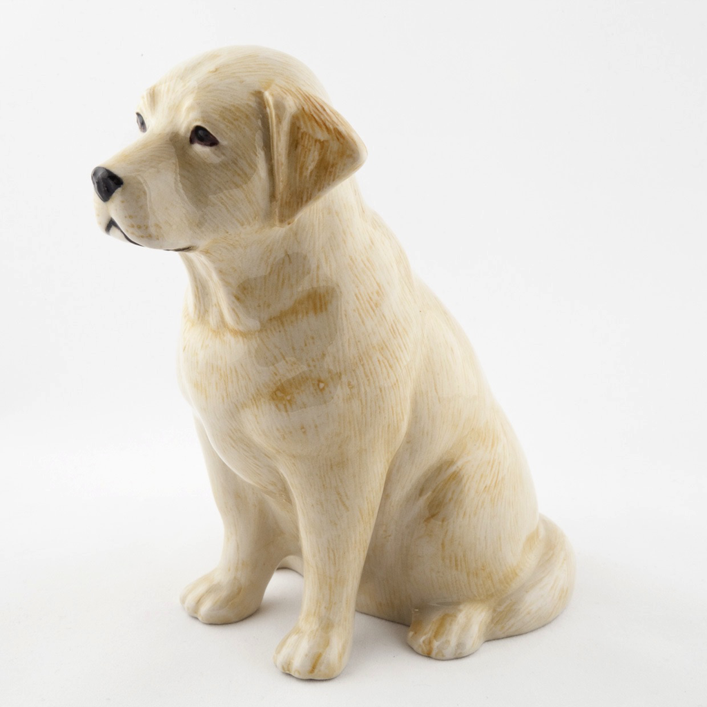 Golden Labrador money box
