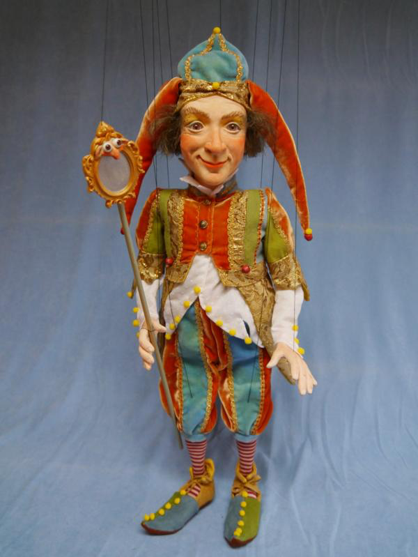 Kasper Marionette, made in Germany