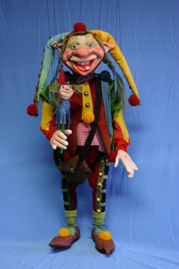 Troll Marionette, made in Germany