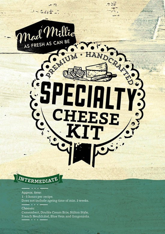 MANUAL - Mad Millie Specialty Cheese Kit (4L Culture)