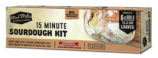 Kit Manual Mad Millie 15 Minute Sourdough Kit