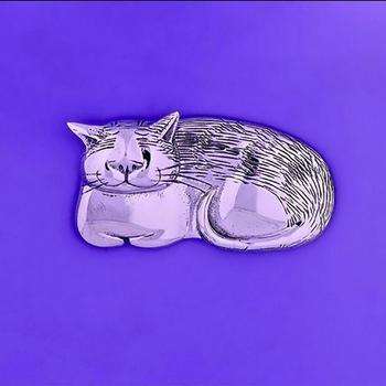 Pin: Cozy Cat STG