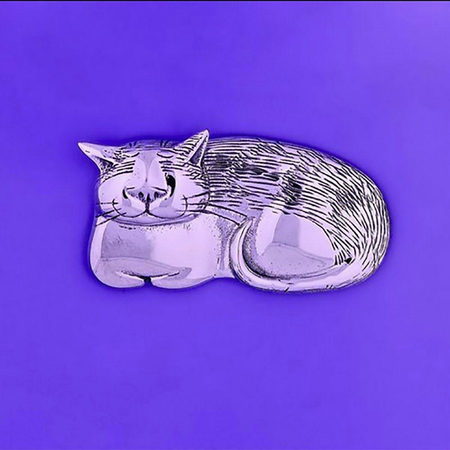 Pin: Cozy Cat STG