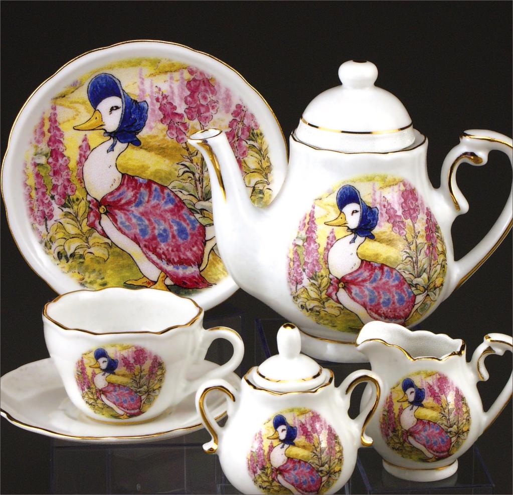Beatrix Potter TEA SET JEMIMA PUDDLEDUCK