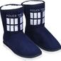 Dr Who - TARDIS Boot Slipper Ladies Size 9