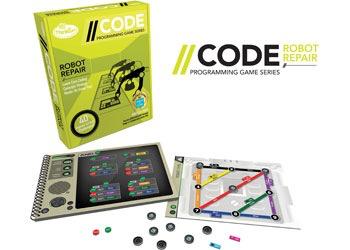 ThinkFun - CODE: Robot Repair Game