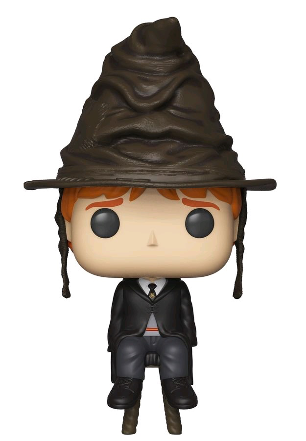Harry Potter - Ron w/Sorting Hat Pop!