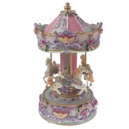 10' Glossy Music Carousel