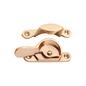 Sash Fastener Narrow Polished Brass L69xW17mm