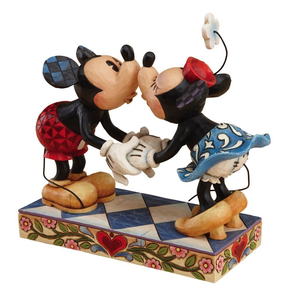 DT MICKEY AND MINNIE KISSING