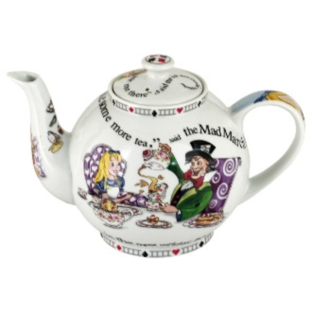 ALICE TEAPOT 4 CUP