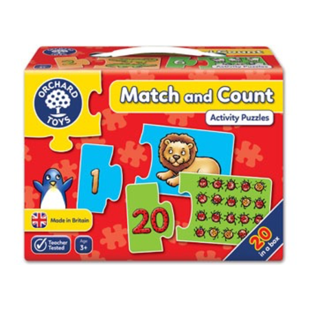 Orchard Toys - Match and Count Puzzle
