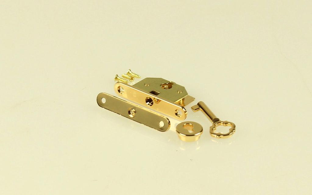 PIN TYPE BRASS BOX LOCK