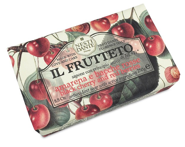 Black Cherry & Red Berries Soap