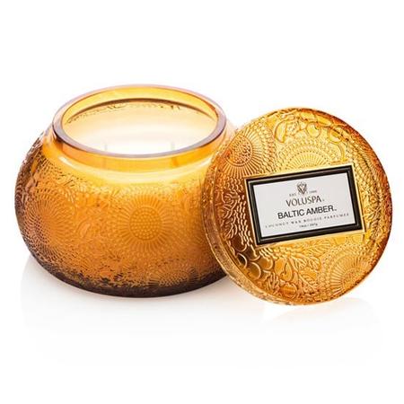 Baltic Amber Chawan Candle
