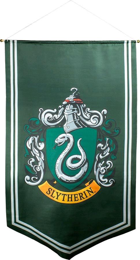 Harry Potter - Slytherin Satin Banner