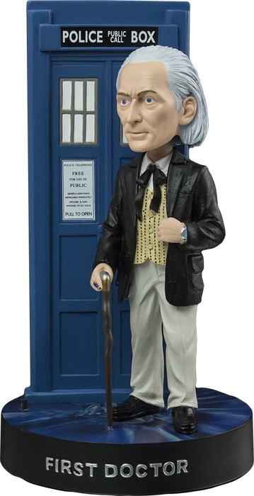 Dr Who - 1st Doctor with TARDIS Bobble Head