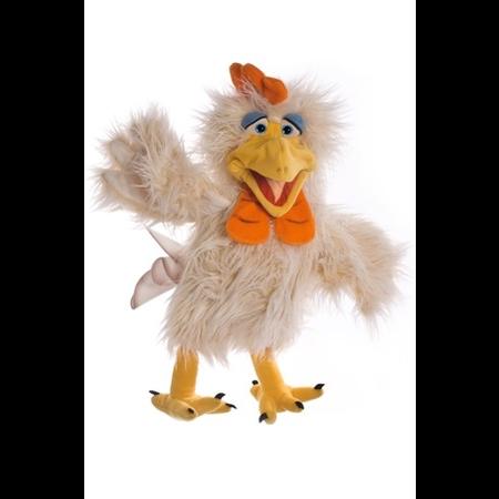 Heini, der Hahn Handpuppe Living Puppets