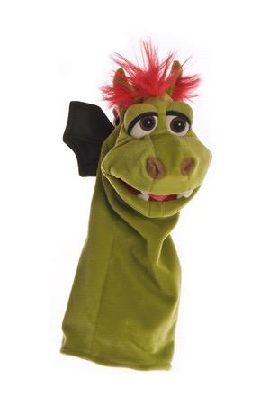 Gregor der Drachen Handpuppe Living Puppets