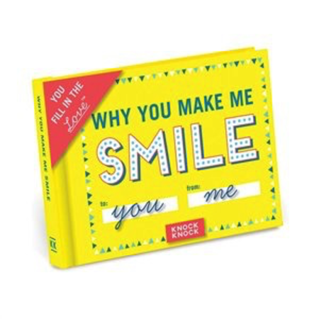 Fill In The Love Journal - Why You Make Me Smile