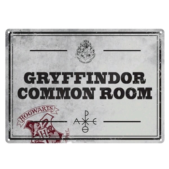 Harry Potter - Tin Sign Small Common Room