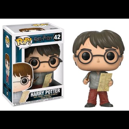 Harry Potter - Harry w/Marauders Map Pop!