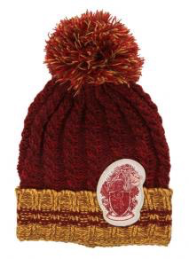 Harry Potter - Gryffindor Heathered Pom Beanie