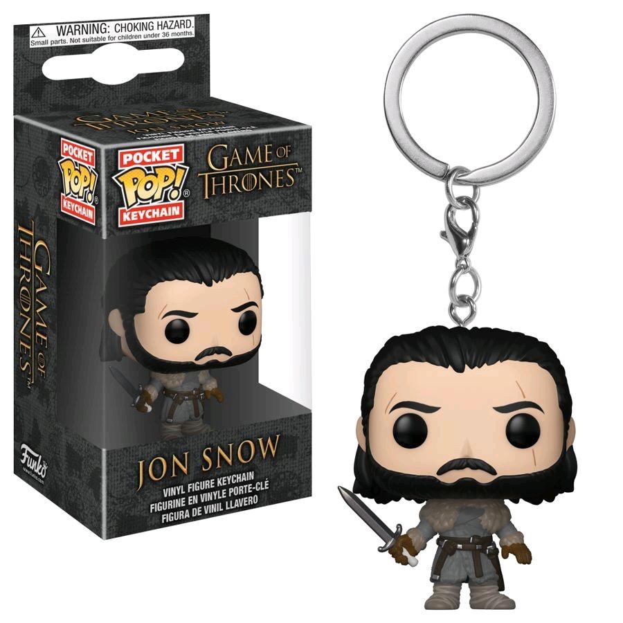 Game of Thrones - Jon Snow (Beyond) Pop! Keychain
