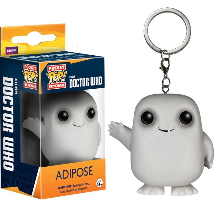 Dr Who - Adipose Pop! Keychain