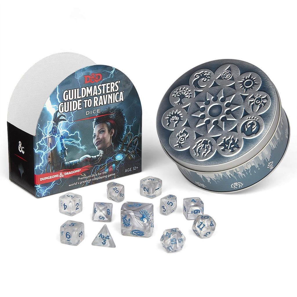 D&D Dungeons & Dragons Guildmasters Guide to Ravnica Dice Set
