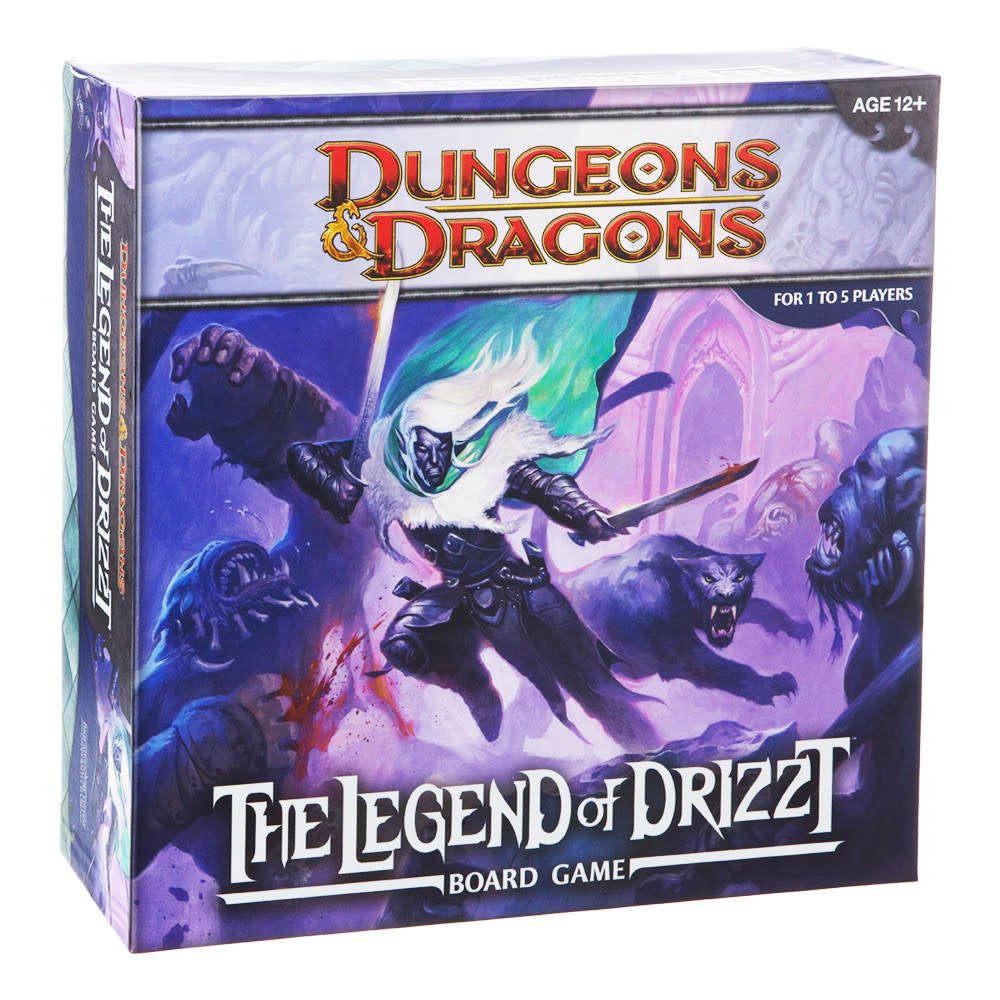 D&D Dungeons & Dragons Legend of Drizzt Board Game