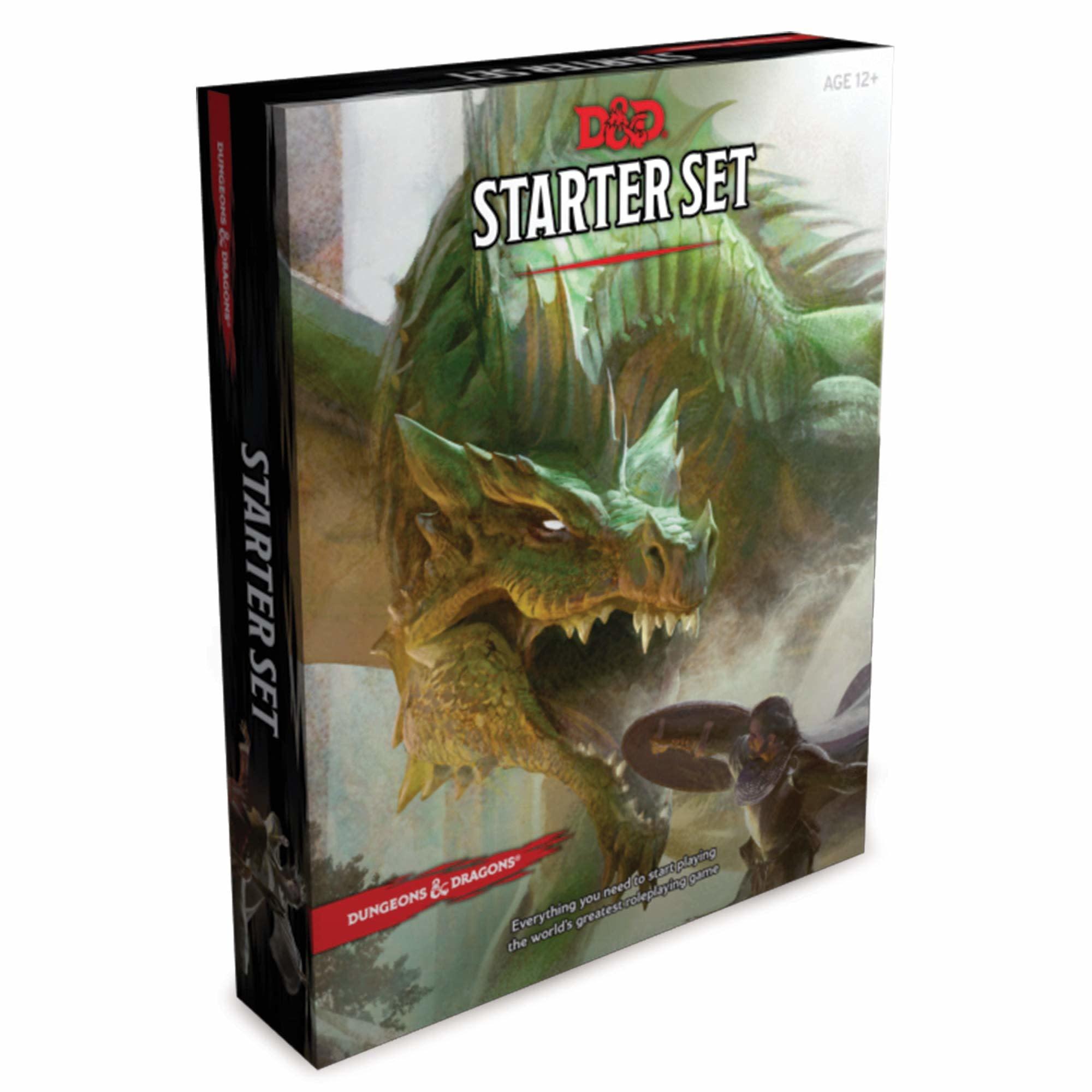 D&D Dungeons & Dragons Starter Set