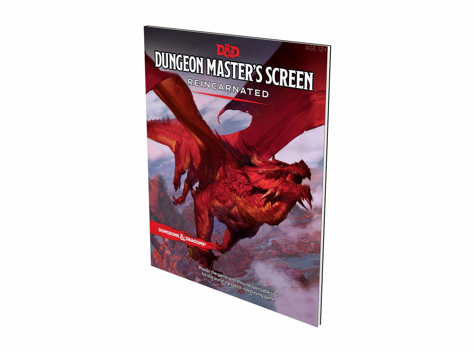 D&D Dungeons & Dragons Dungeon Masters Screen Reincarnated
