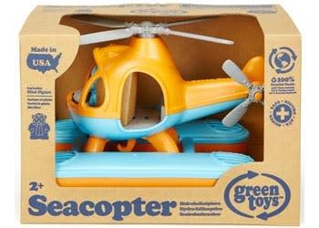 Green Toys - Sea Copter - Orange