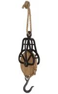 Decorative Wood/ Metal Wall Hook