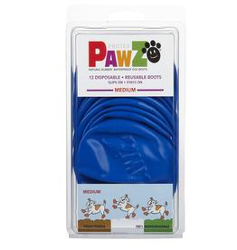 Pawz Pawz Dog Boots, Blue, M