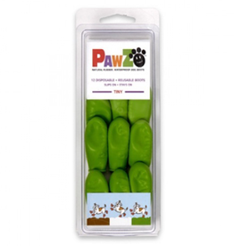 Pawz Pawz Dog Boots, Lime Green, Tiny