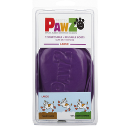 Pawz Pawz Dog Boots, Purple, L
