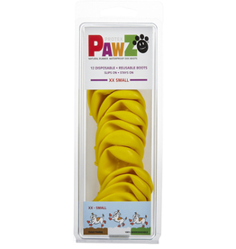 Pawz Pawz Dog Boots, Yellow, XXS
