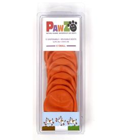 Pawz Pawz Dog Boots, Orange, XS