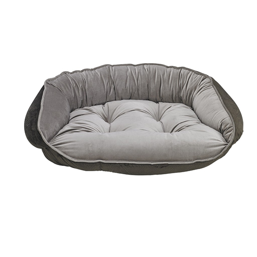 Bowsers Bowsers Crescent Bed Pebble M