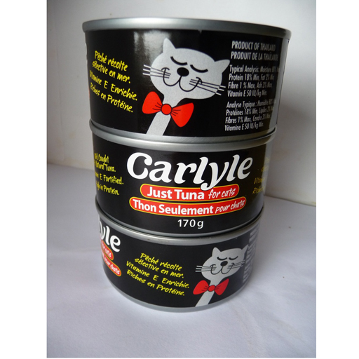 Carlyle Carlyle Canned Tuna for Cats 6oz