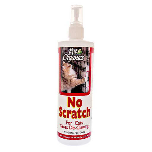 NaturVet NaturVet Pet Organics No Scratch! for Cats Spray 16oz